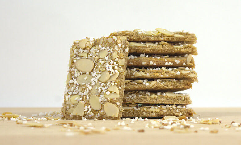 Picture of stack of Almond Sugar Cookies