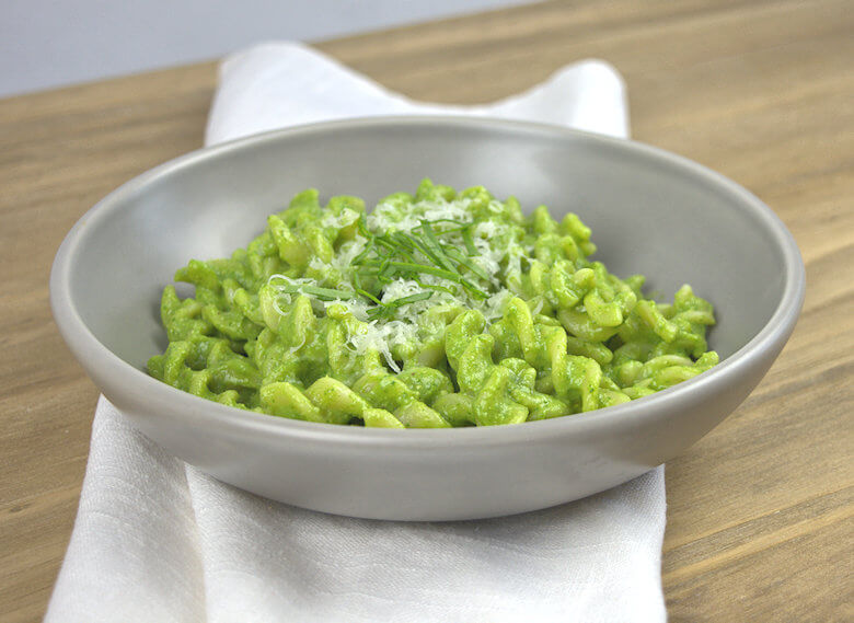 Picture of No Guilt Avocado Spinach Pasta