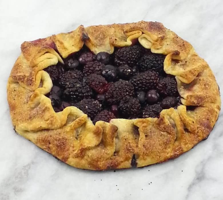Picture of Black and Blueberry Galette
