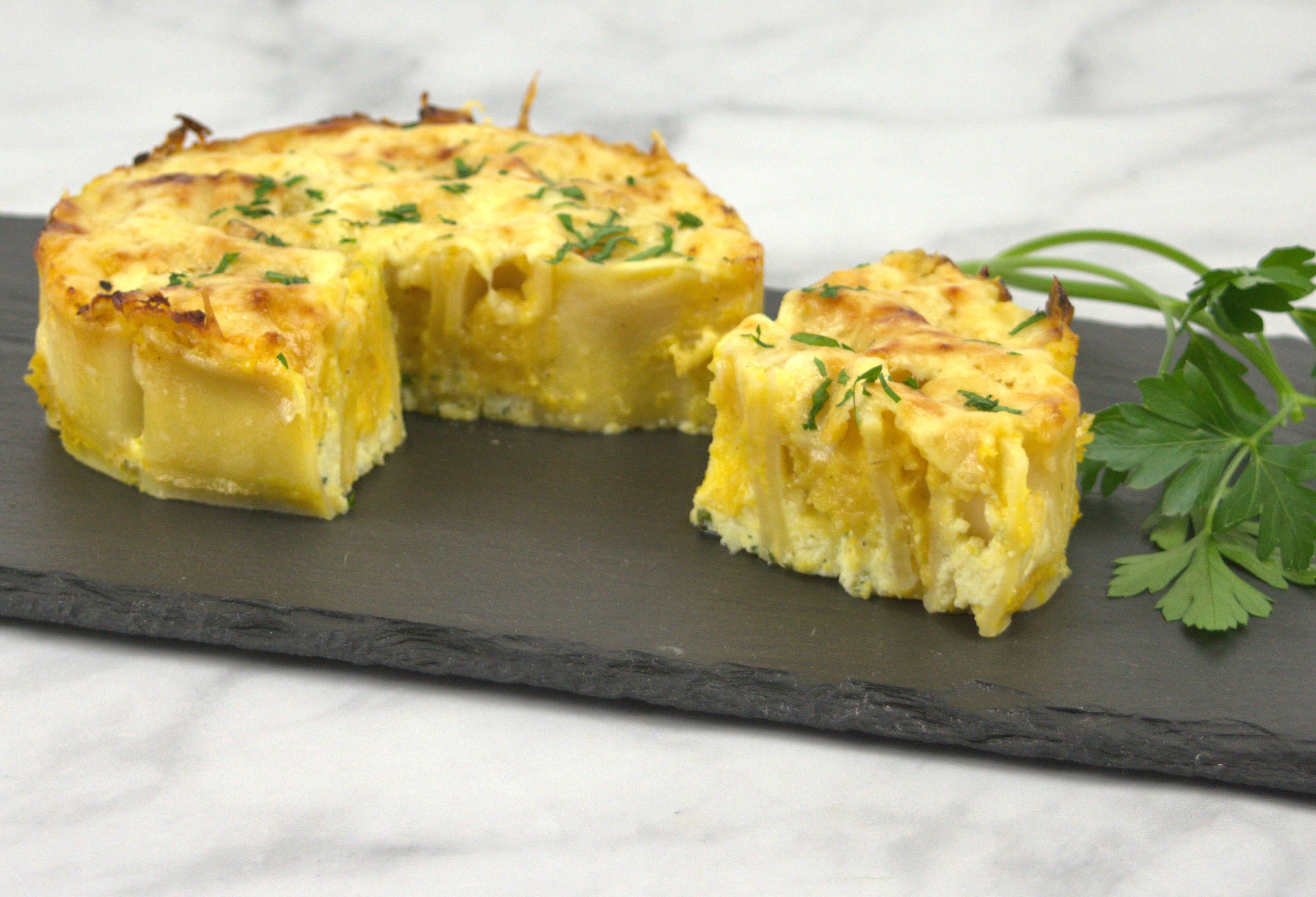 Picture of Butternut Squash Pasta Pie