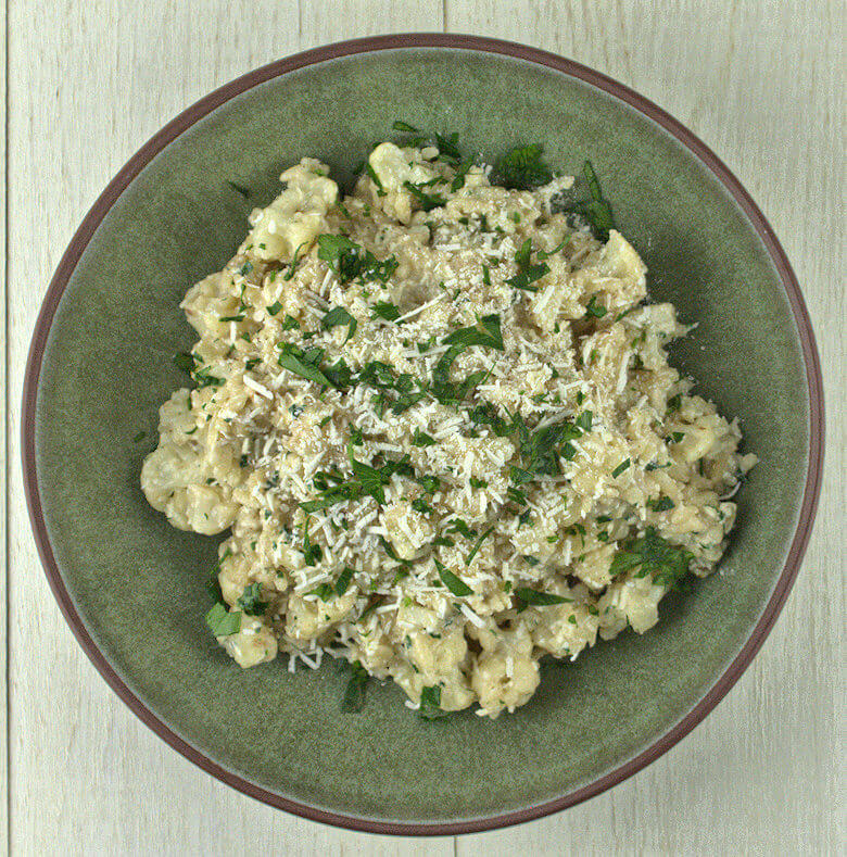 Cauliflower Risotto with Mizithra Cheese1