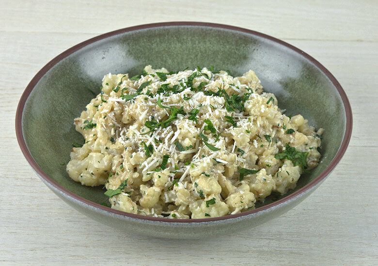 Cauliflower Risotto with Mizithra Cheese3