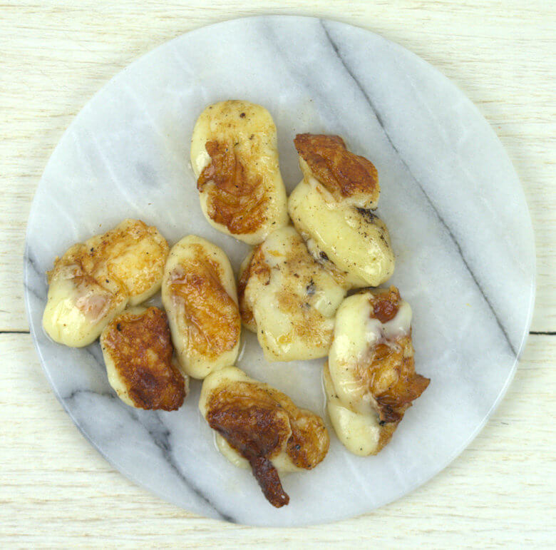Picture of grilled cheese curds