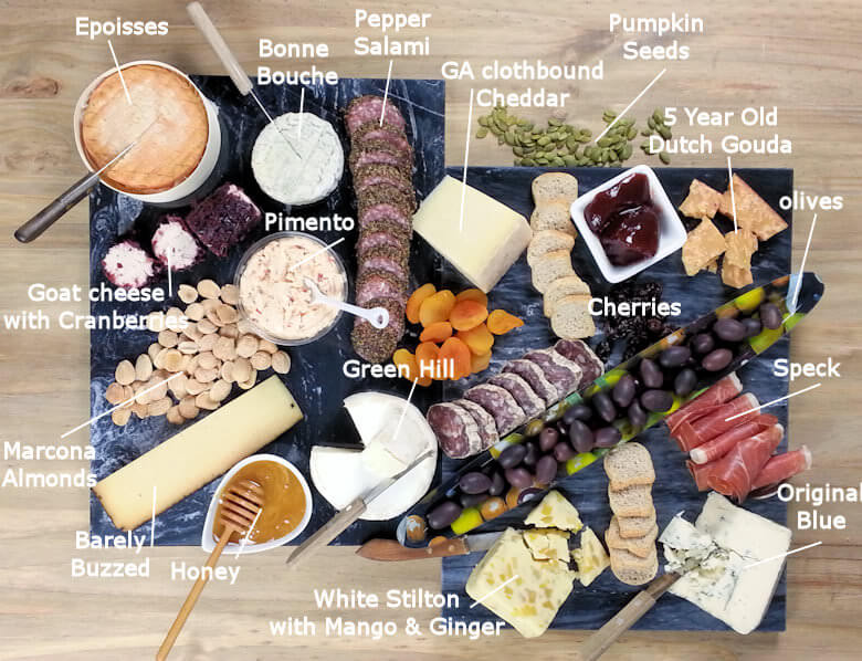 Cheese Platter Text