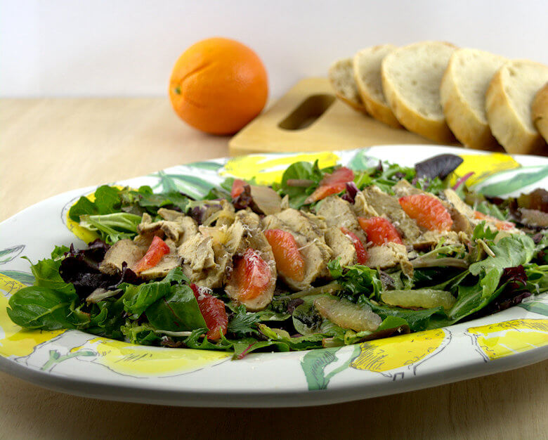 Picture of Citrus Chicken and Greens Salad