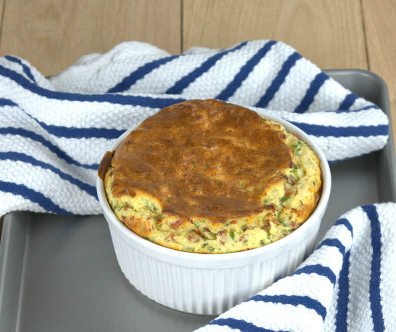 Comte Cheese Souffle with Prosciutto2