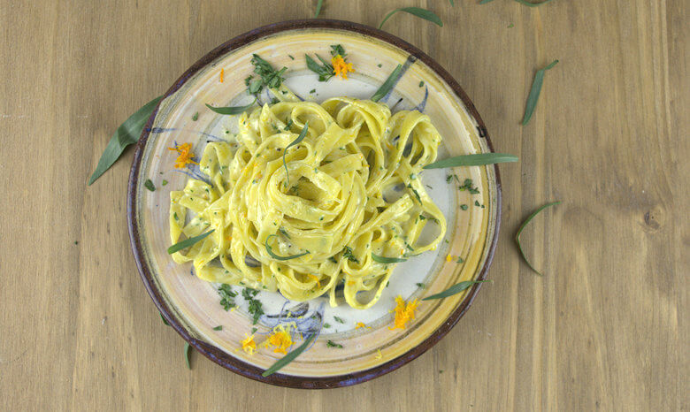Creamy Pasta with Citrus and Tarragon2