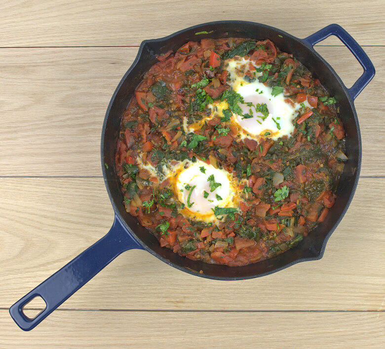 Picture of Easy Shakshuka with Spinach