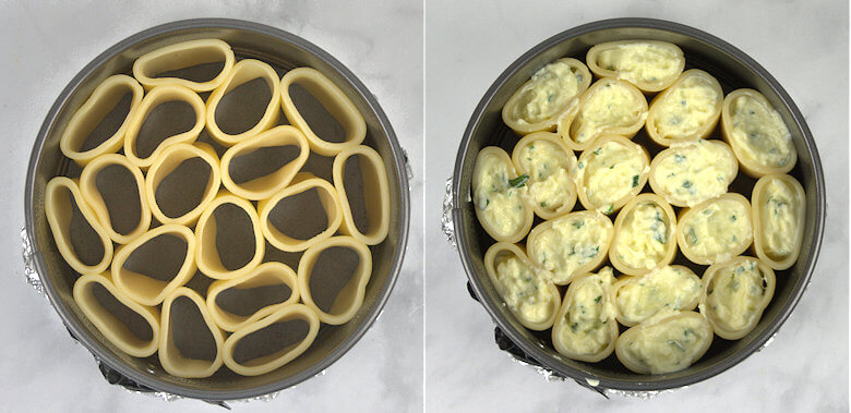 Picture of filling pasta