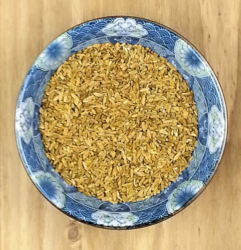 Picture of a bowl of uncooked freekeh