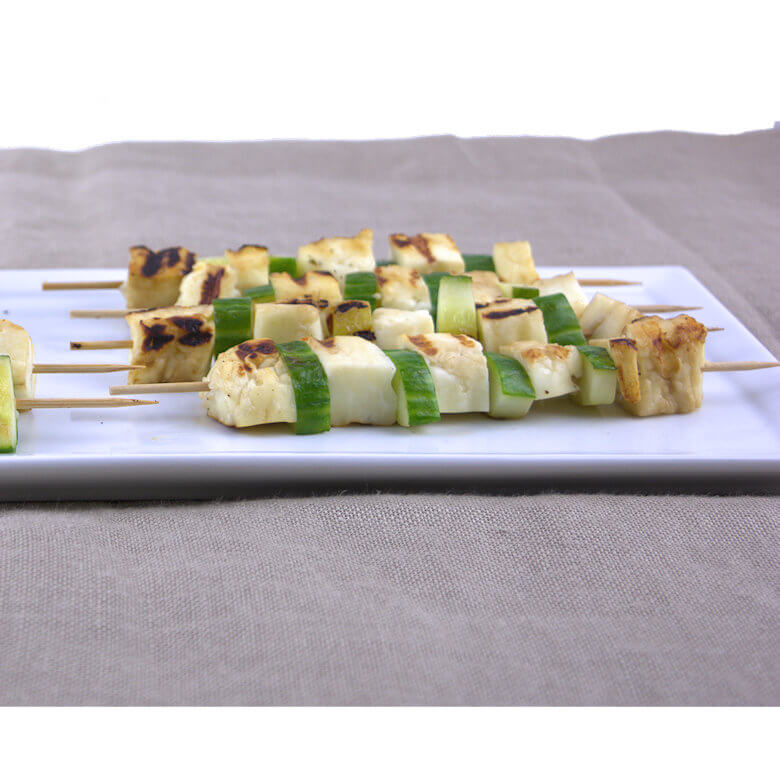Picture of Halloumi Cucumber Kebabs