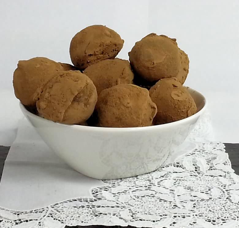 Picture of Hibiscus Cream Truffles