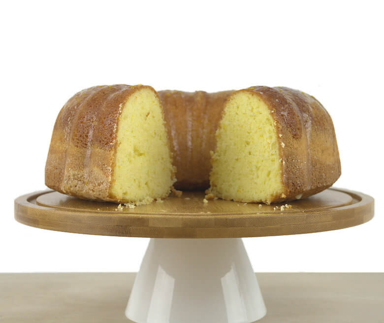 Front picture of Light Orange Buttermilk Bundt Cake