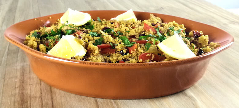 Side picture of Mediterranean Chicken Couscous