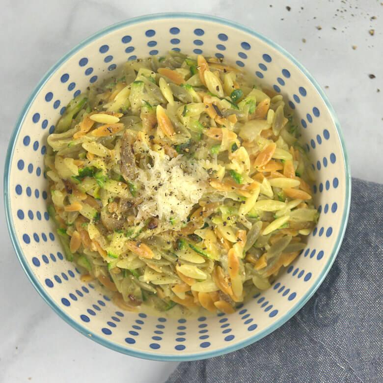 Orzo with Zucchini