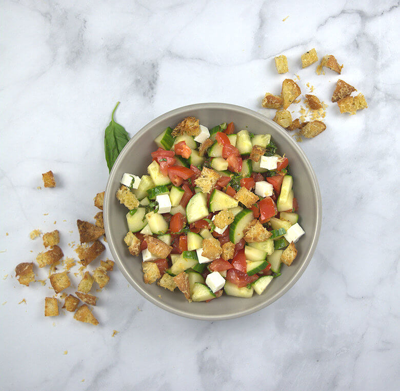 Picture of Panzanella with Cucumber and Feta