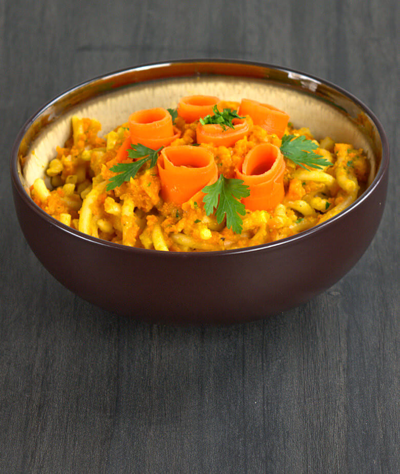 Picture of Pasta with Carrot Wine Sauce