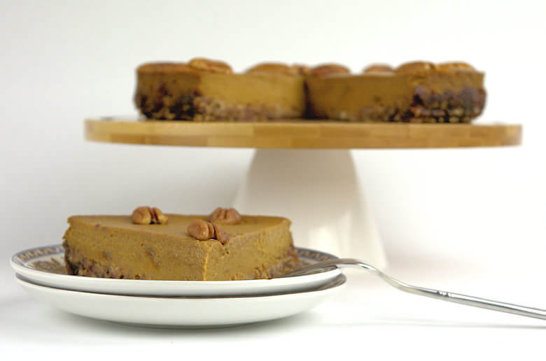 Picture of Pumpkin Pie on Date-Pecan Crust