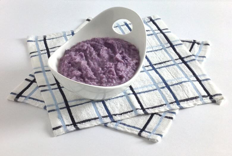 Picture of Purple Cauliflower Mash with Gruyere