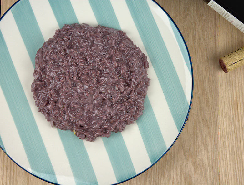 Red Wine Risotto with Mascarpone2