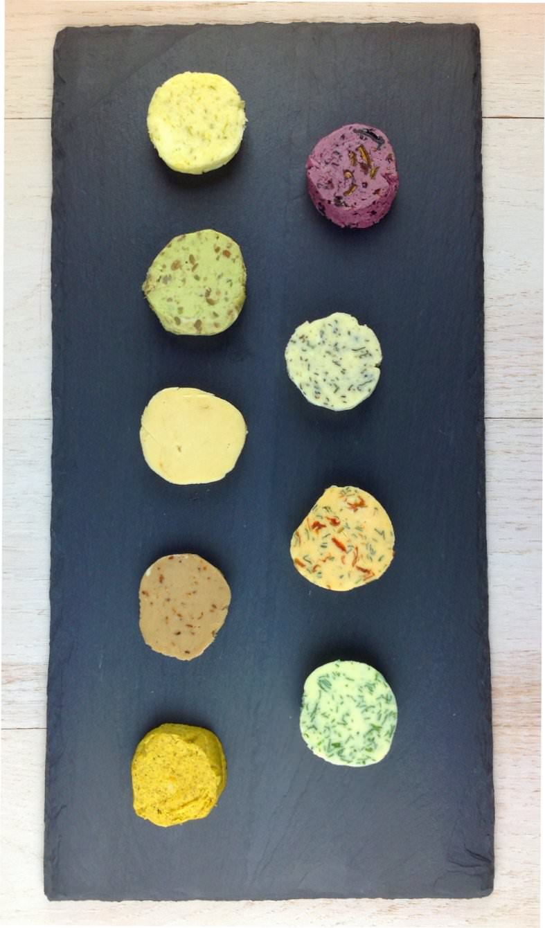 Picture of 9 savory compound butters