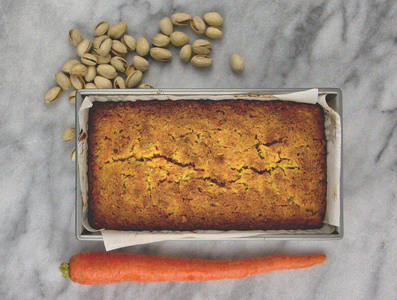 Semolina Carrot Cake with Orange Glaze1