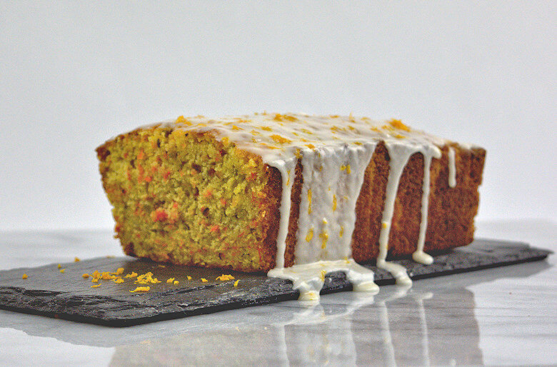 Picture of Semolina Carrot Cake with Orange Glaze