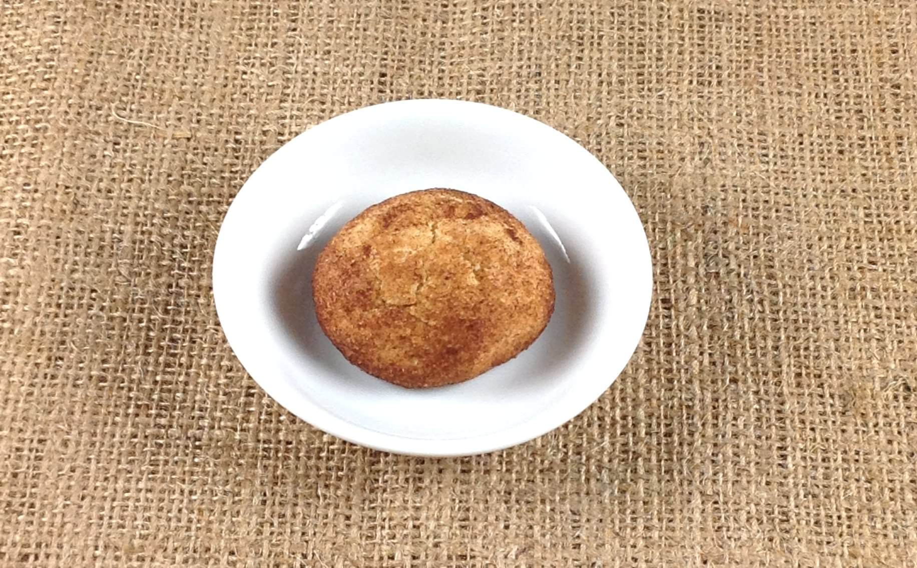 Picture of just one snickerdoodle