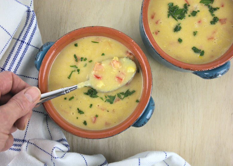 Sweet Summer Corn Soup3