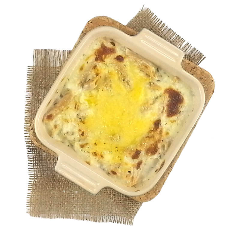Picture of Three European Cheese Penne with grated cheese