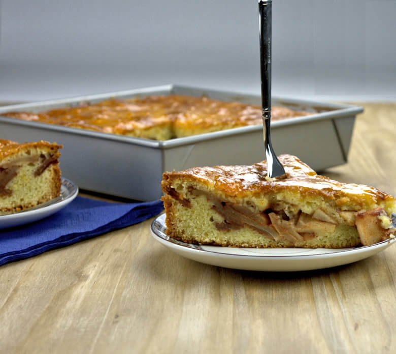 Two Layer Apple Banana Cake2