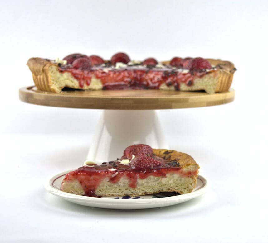 Vanilla Rice Pie with Strawberries4