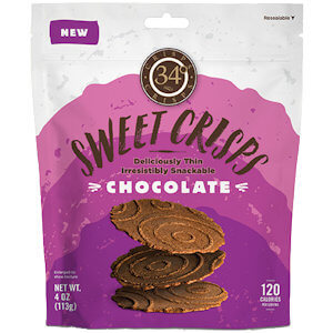 Picture of 34 degrees chocolate crisps