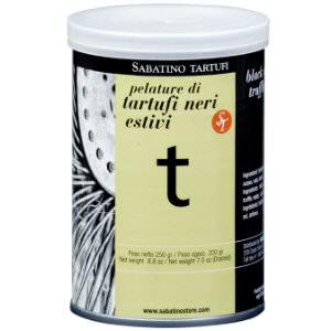 Picture of black summer truffle peelings