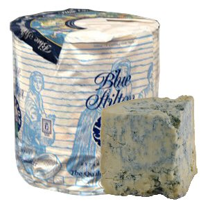 Picture of blue stilton small wheel