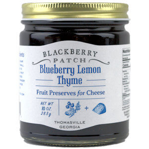 Picture of blueberry lemon thyme preserve