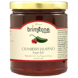 Picture of cranberry jalapeno pepper jelly