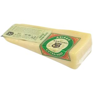 Picture of extra-aged asiago cheese