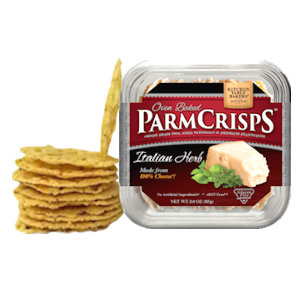Picture of italian herb parmcrisps