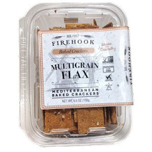 Picture of multigrain flax mediterranean crackers