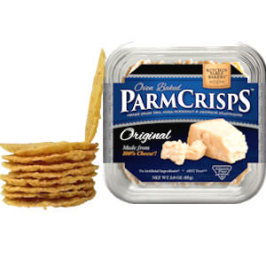 Picture of original parmcrisps