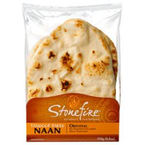 Picture of original tandoori naan