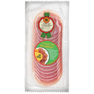 Picture of pancetta sliced