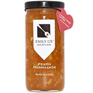 Picture of peach marmalade