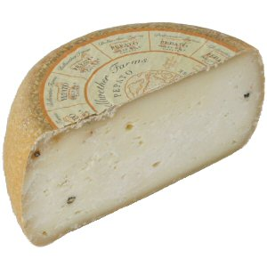 Picture of pepato cheese wheel