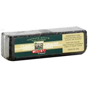 Picture of private stock cheddar