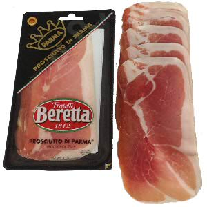 Picture of prosciutto di parma sliced