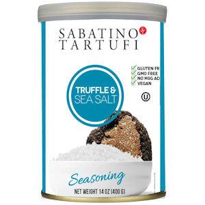 Picture of sea salt & black truffles