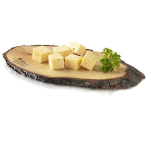 Picture of serving board with bark