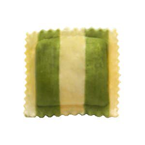 Picture of spinach, asiago & roasted garlic ravioli